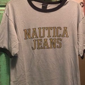 Vintage nautica tee shirt !
